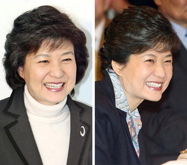 写真】朴槿恵前代表の新しいヘア...