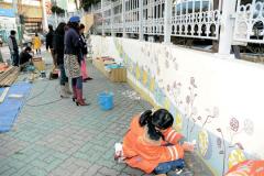 写真】KBS原州放送局の壁画 | Jo...