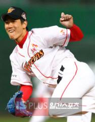 野球>SKのエース金広鉉、4月中...