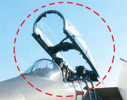 非常脱出装置誤作動事故が発生したF-15Kと同じ機種の戦闘機。