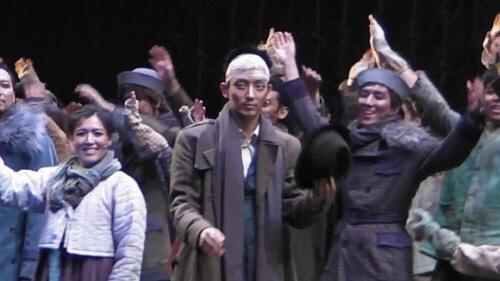 ミュージカル「生命の航海」に出演中のイ・ジュンギ