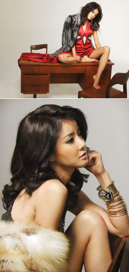ファッションマガジン「エスクァイア」12月号に登場した女優イ・シヨン(写真=GnGプロダクション)。