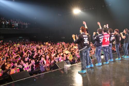 日本で初めての単独コンサートを開催した男性7人組のU-KISS(写真=NH EMG)。