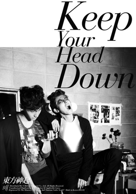 来年1月5日にアルバム「なぜ(Keep Your Head Down)」をリリースする東方神起(写真=SMエンターテインメント)。