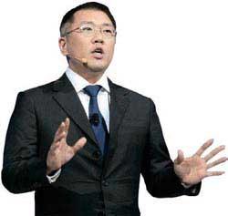 鄭義宣(チョン・ウィソン)現代自動車副会長(41)。