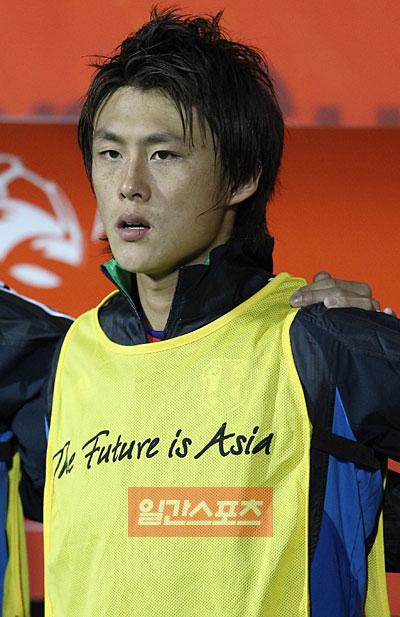アジアカップで、日本代表として活躍した李忠成。