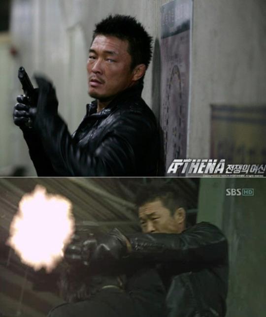 SBS月火曜ドラマ「アテナ:戦争の女神」に再登場し、強烈なアクションを見せた異種格闘技選手の秋山成勲(=秋成勲)。