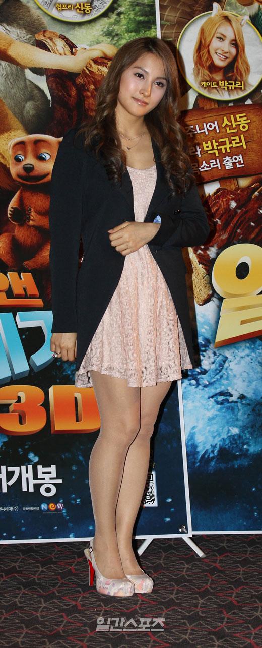 10日午後2時、ソウル城東区往十里CGVで行われたアニメ映画「アルファ・アンド・オメガ」試写会に登場したパク・ギュリ。