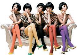 中国でも高い人気を誇るガールズグループのワンダーガールズ。