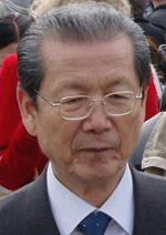 北朝鮮の崔泰福(チェ・テボク)最高人民会議議長。