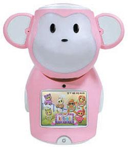 子ども用サル型ロボット「キボット(kibot)」。