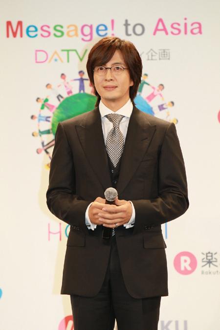 韓流スターのペ・ヨンジュン(写真=キーイースト提供)。