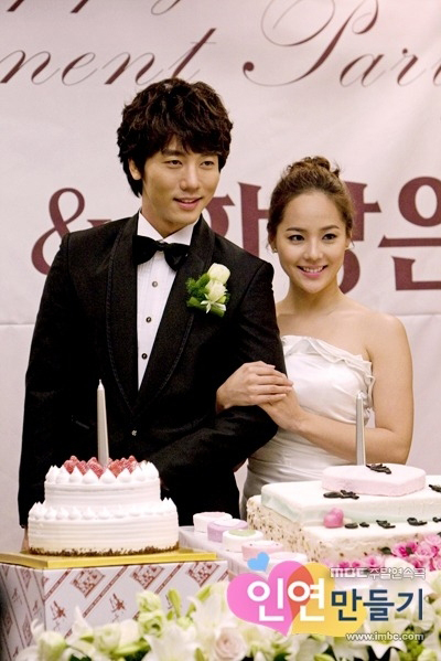 7月23日に結婚式を挙げる俳優キ・テヨン(左)と元S.E.Sメンバーで女優のユジン。