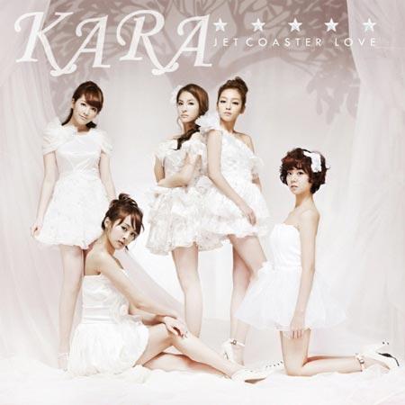 分裂事態が取りざたされて以来、初めて5人そろって放送に出演した女性グループのKARA。