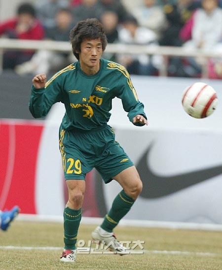 30日にソウル内のホテルで自殺したチャレンジリーグ(K-3リーグ)ソウルユナイテッド所属のチョン・ジョングァン選手(30)。