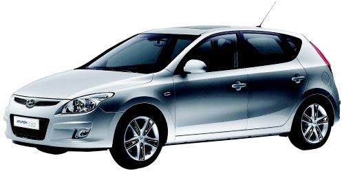 現代車「i30」。