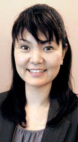 最近日本で出版された「耳の聞こえない私が4カ国語しゃべれる理由」の著者、金修琳(キム・スリム)さん。