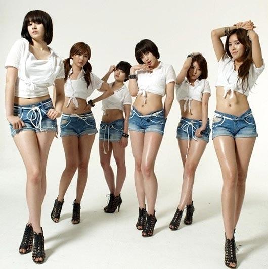 新アルバム発売を控えているグループT-ara(ティアラ)。