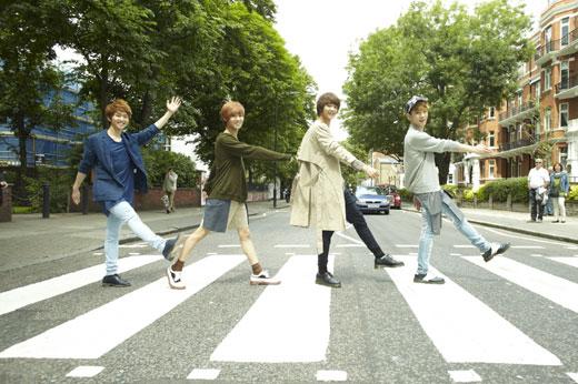 グループSHINee(シャイニー)(写真=SMエンターテイメント提供)。