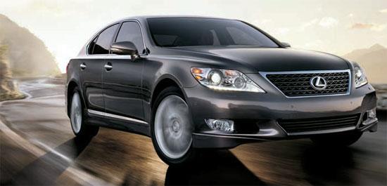 JDパワーの2011年新車品質調査(IQS)で満足度が最も高かった高級大型セダンのレクサスLS。
