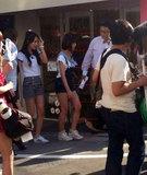 あるポータルサイトの掲示板には「ハン・スンヨン、日本の街頭で6等身を激写」というコメントとともに写真が掲載された。