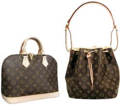 ルイ・ヴィトンのバッグ。