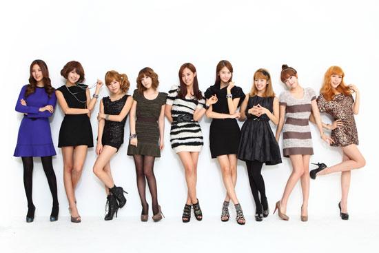 韓国の少女時代。