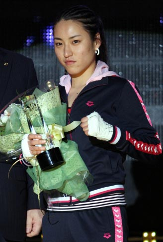 韓国の女性ファイター、イム・スジョン(26、竜仁大)。