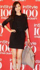 日本の雑誌「シュプール」で韓国代表ファッショニスタに選らばれた女優コン・ヒョンジュ。