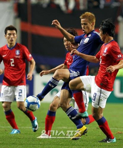 今月10日に札幌ドームでサッカー日韓親善試合が行われる。