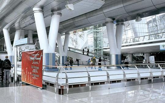 仁川(インチョン)国際空港のアイスリンク