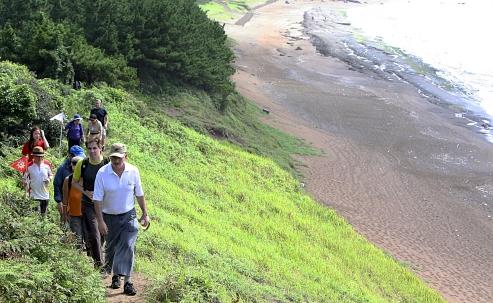 済州島(チェジュド)の外周に整備された遊歩道である「済州オルレ」。
