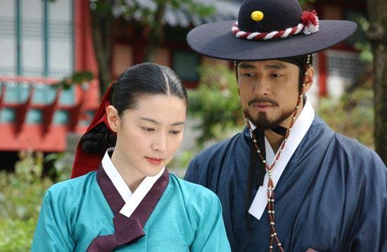 MBC(文化放送)ドラマ「チャングム」。