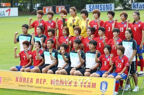 韓国女子サッカー代表。