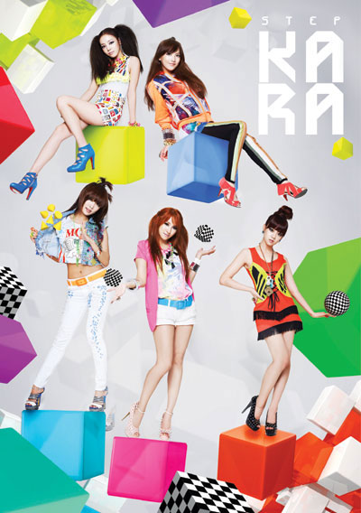 9月6日に発売された「STEP」が、9月の月間アルバムチャートで1位となったガールズグループのKARA。