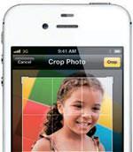 アップルの「iPhone4S」。