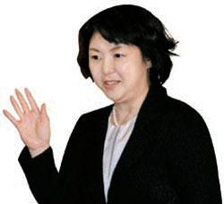 野田首相の夫人・仁実氏。