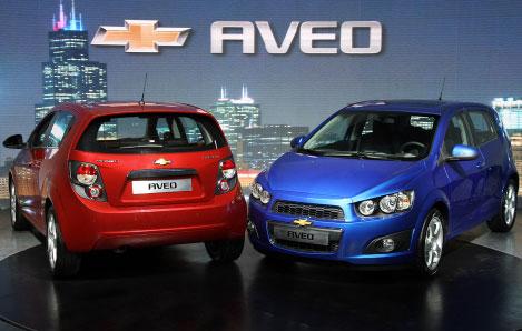 韓国GMの「アベオ」。