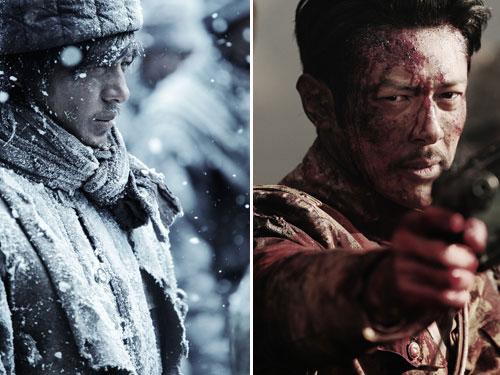映画「マイウェイ」の主人公の1人、長谷川辰雄を演じているオダギリジョー(写真=ディレクターズ提供)。