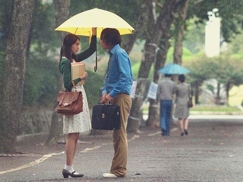チャン・グンソク(右)と少女時代のユナの共演で話題になっているドラマ「ラブレイン」(写真=ワイトゥリーメディア)。