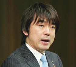 日本の橋下徹・大阪市長(42)。