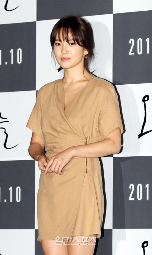 ジョン・ウー監督の映画「生死恋」(仮題)のヒロインとして出演することになった女優のソン・ヘギョ。