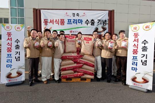 東西(ドンソ)食品が韓国の代表的なコーヒークリーマー「プリマ」を日本へ本格的に輸出する。