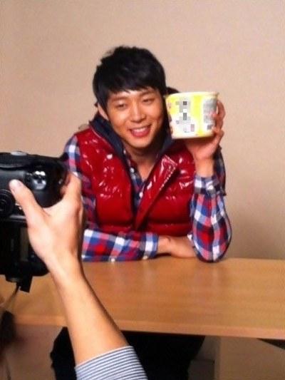JYJのユチョン(写真=コミュニティーサイト)。