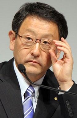 韓国を訪問したトヨタ自動車の豊田章男社長。