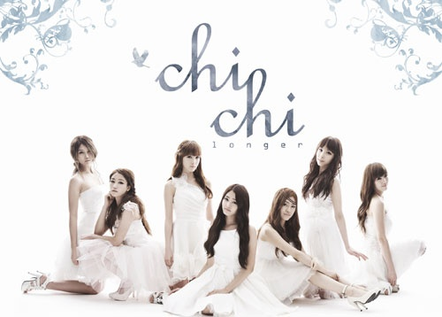 7人体制だったときのガールズグループCHI-CHI(チチ)。