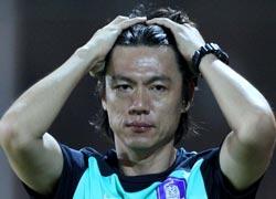 韓国オリンピック代表チームの洪明甫(ホン・ミョンボ)監督。