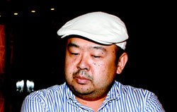 金正男(キム・ジョンナム)。