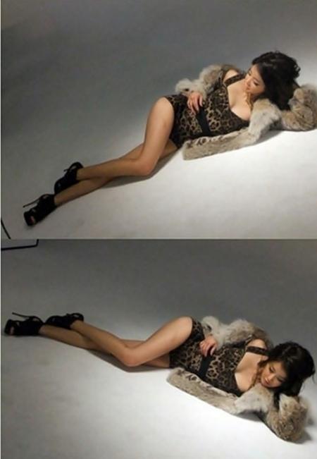 女優のイ・シヨン(写真=ポータルサイト掲示板)。