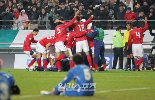 29日のクウェート戦で2-0で勝利したW杯韓国サッカー代表。